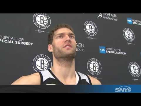The Brooklyn Nets hold on to Brook Lopez