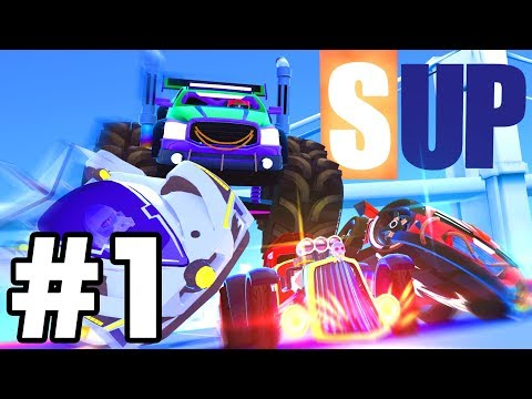 I LOVE THIS GAME..!! | *NEW* SUP Multiplayer Racing Game IOS
