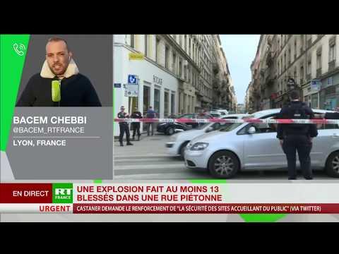 Explosion à Lyon : un homme d'une trentaine d'années activement recherché