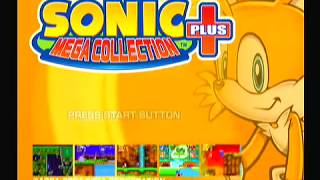 Sonic The Hedgehog 3 Sega Genesis PlayStation 2 Mega Collection Run