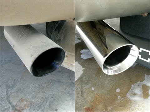 How To Clean & Polish Stainless Steel Exhaust Tips in Under 10 Minutes