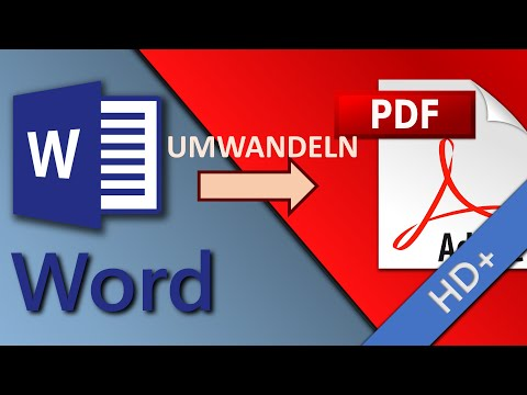 Word-Dokument in PDF umwandeln (4 einfache Wege) – Word-Tutorial from YouTube · Duration:  2 minutes 58 seconds