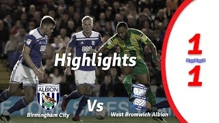 Birmingham City vs West Brom 1-1 Highlights all goals 15-09-2018