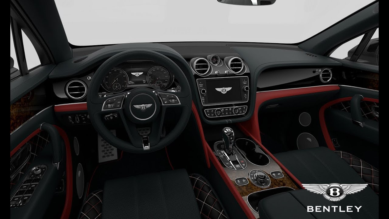 2018 Bentley Bentayga Mulliner Interior Colours The Ultimate