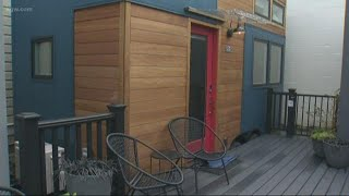 Tiny House Hotel Opens In Nw Portland
