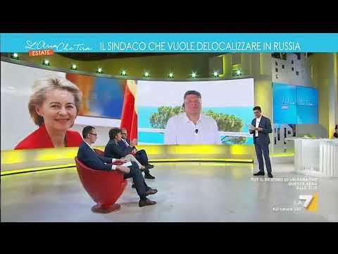 Diego Fusaro: 'Temo la Ursula Von Der Leyen, siede al gruppo Bilderberg e rappresenta il ...