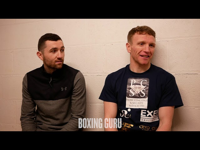 TOM FARRELL & GED CARROLL INTERVIEW - LIVERPOOL, UK #smitheggington #fowlerfitzgerald #priceali