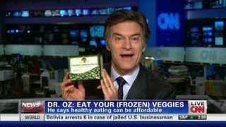 Dr. Oz: Canned foods are just as good