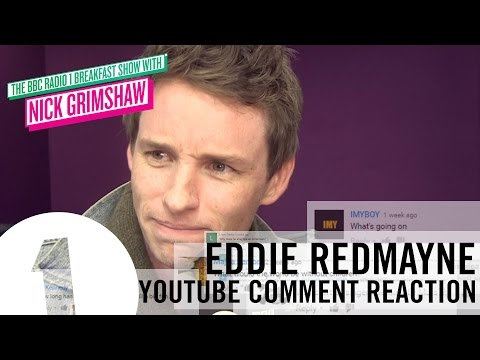 Thumbnail: Eddie Redmayne - Youtube Comment Reactions