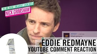 Eddie Redmayne - Youtube Comment Reactions
