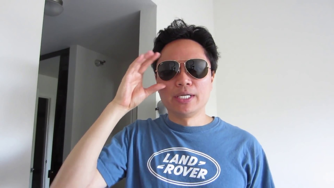 634292b0adb Ray-Ban Aviator Sunglasses Size Comparison - YouTube