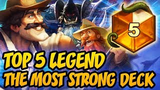Hearthstone: TOP 5 LEGEND - The Most Strong Deck