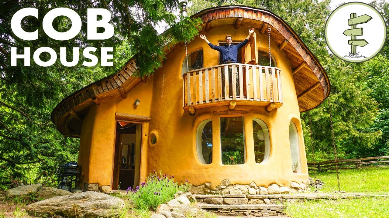 Incredible Cob House Tour - A Sustainable Green Building ...