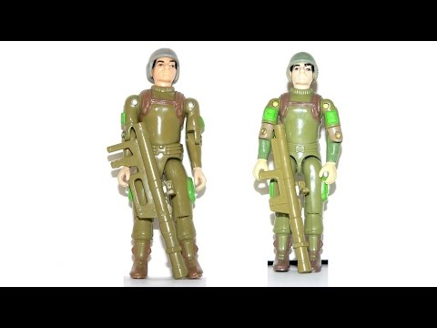 1982 & 1983 Zap (Bazooka Soldier) G.I. Joe review