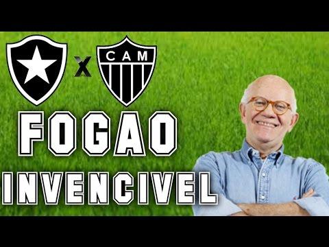 Gols De Botafogo 3 x 2 Atlético MG (Edson Mauro) Rádio Globo/CBN - Série A - 16/10/2016