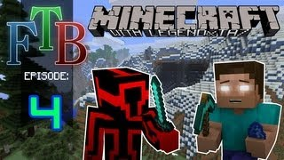 Minecraft Feed The Beast - The Machine Shop - [#4]