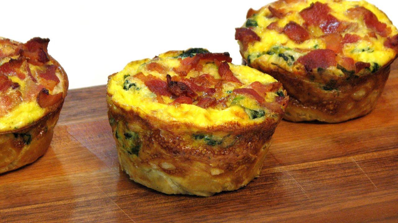 Mini Breakfast Souffles Lynn S Recipes Youtube