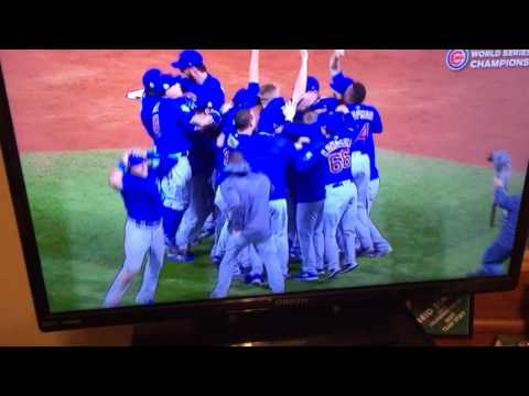 Chicago Cubs win the 2016 World Series!