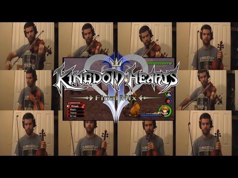 Kingdom Hearts II Final MIX - Rage Awakened Violin