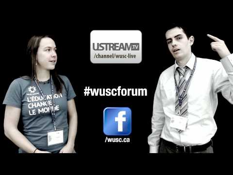 WUSC 2011 International Forum - Join Us Online!
