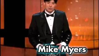 Mike Myers Salutes Sean Connery In A Kilt at the AFI Life Achievement Award streaming