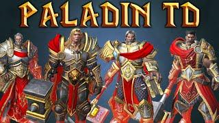Warcraft 3 REFORGED   Paladin TD   Golden Sacred Paladin
