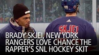 Brady Skjei, New York Rangers Love Chance The Rapper's SNL Hockey Skit