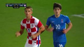 Азербайджан U-21  1-5  Хорватия U-21 видео