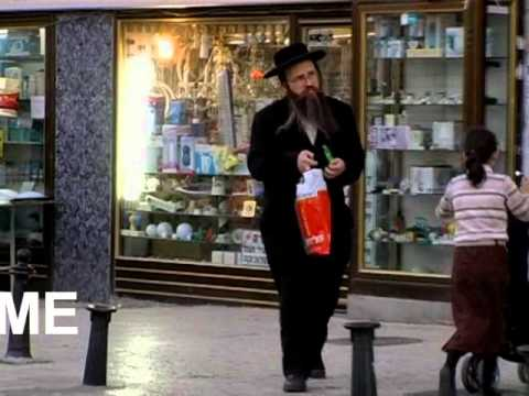 "A rare glimpse into the ultra orthodox neighborhood, ""Mea Shearim"" in Jerusalem"