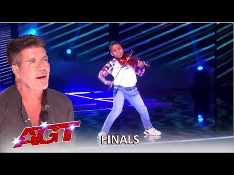Download Tyler Butler-Figueroa: Simon Cowell's Golden Buzzer SLAYS In The Finals | America's Got Talent 2019