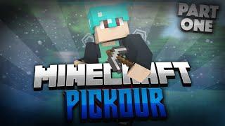 Minecraft: PICKOUR PARKOUR ADVENTURE Part 1 (Minecraft 1.8.8 Adventure Parkour Map) w/ TheIronMango!