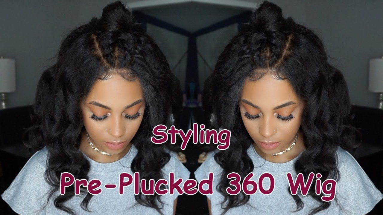 Styling Pre Plucked 360 Frontal Wigs Ft Bestlacewigs 20 Off Sale