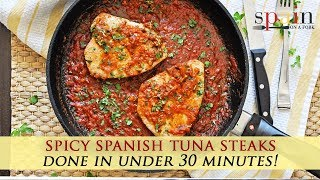 The Best Spanish Tuna Recipe with Spicy Tomato Sauce