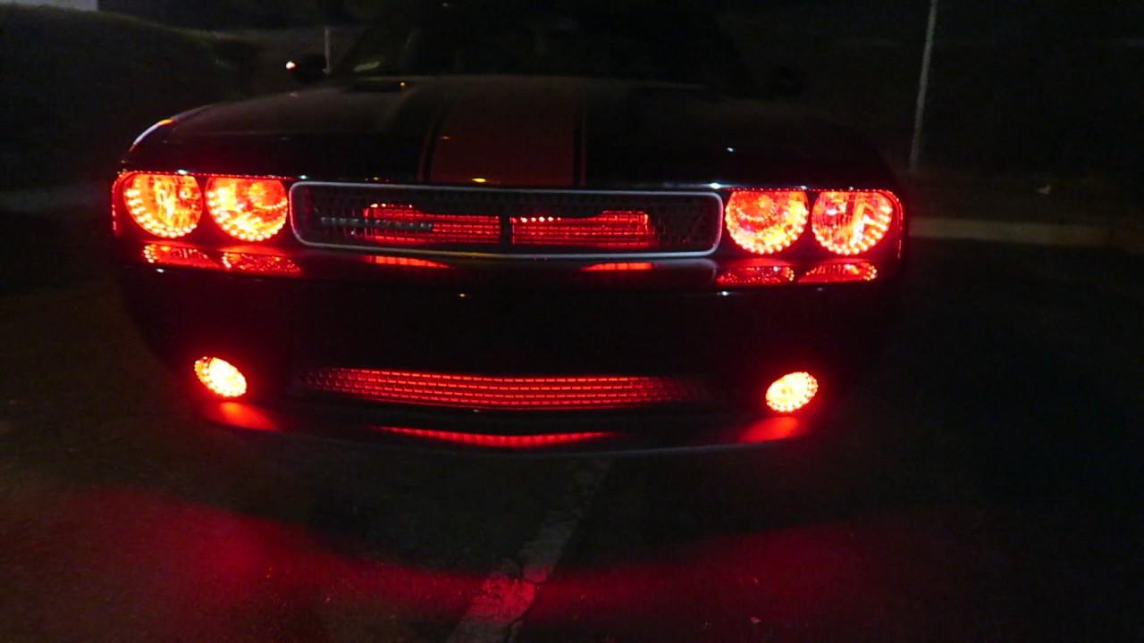 2014 dodge challenger sxt custom lights super rare - 2017 dodge challenger interior lights ...
