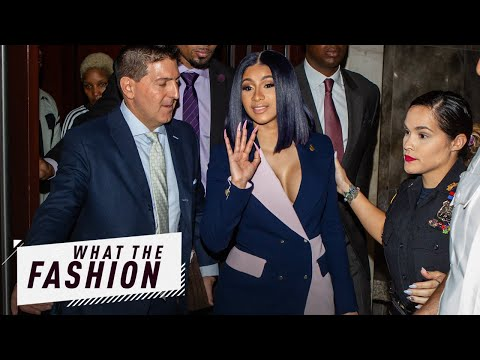 Is Cardi Going Down in a Blazer of Glory?  What the Fashion  S2 Ep 14  E News