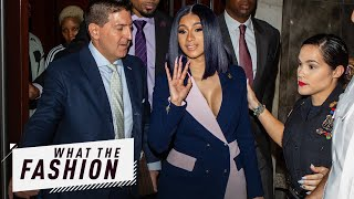Is Cardi Going Down in a Blazer of Glory?! | What the Fashion | S2, Ep. 14 | E! News