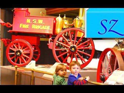 Музей Техники и Транспорта для детей и взрослых в Сиднее