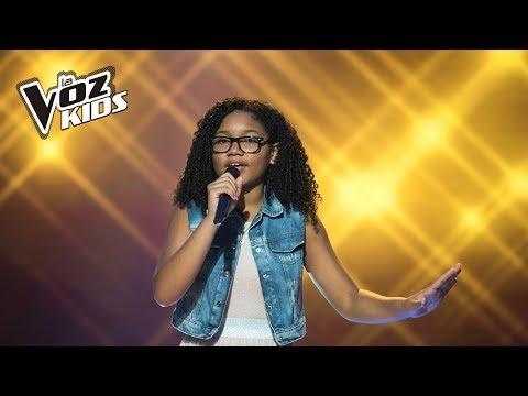 Aura canta Can't Help Fallin in Love - Audiciones a ciegas | La Voz Kids Colombia 2018
