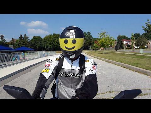 Review: Motorcycle Helmet Visor Skin (Lego Minifig Face)