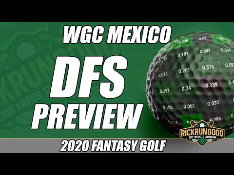 WGC Mexico | DFS Preview & Picks 2020