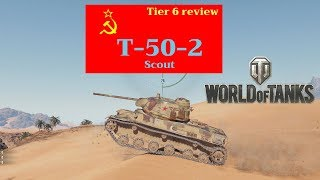 T 50 2 tank review World of Tanks