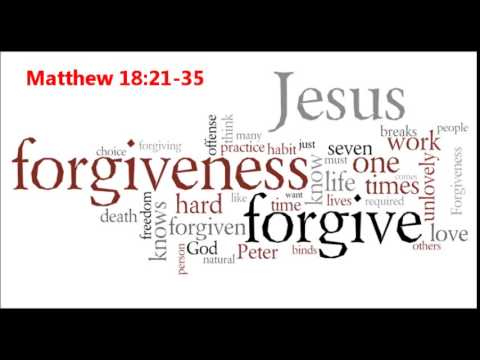 """history of matthew 18 21 35 Then peter came up and said to him, """"lord, how often will my brother sin against me, and i forgive him as many as seven times"""" jesus said to."""