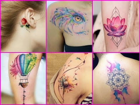 100 Best Watercolor Tattoo Ideas For Women - New Ideas