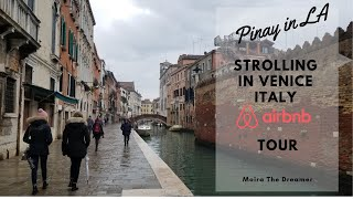 Gambar cover Strolling in Venice Italy    AIRBNB Tour   Pinay in LA