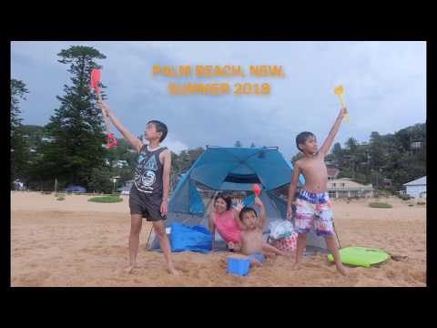 Fun Time at Palm Beach, NSW, Australia