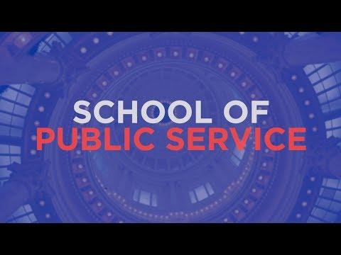 The School of Public Service