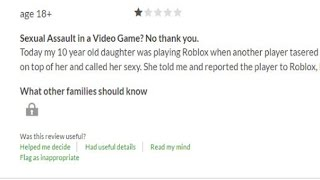 Angry parents give terrible ROBLOX reviews (Part 1)