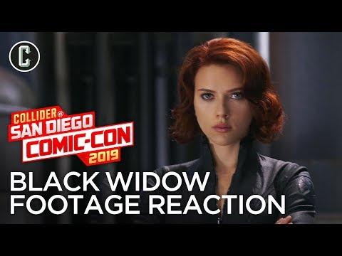 Black Widow Footage Reaction