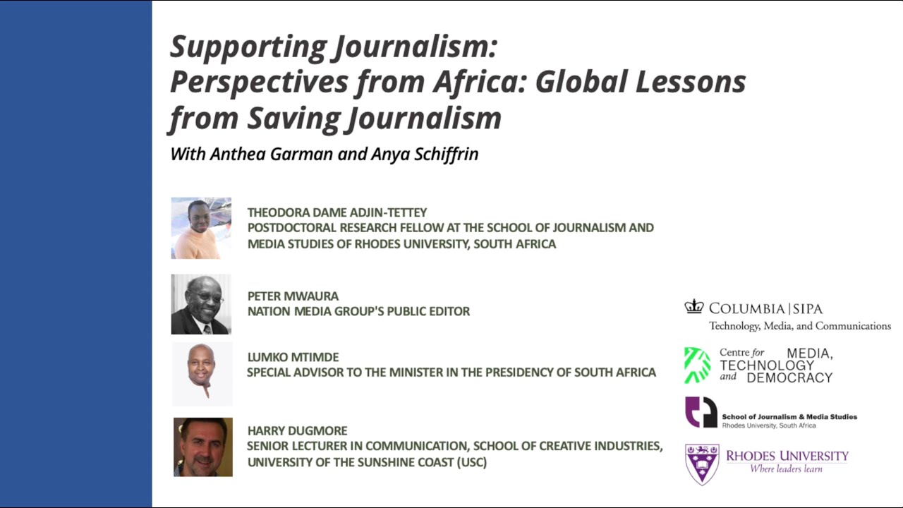 Perspectives from Africa: Global Lessons for Saving Journalism