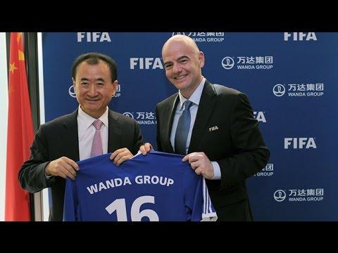 China's Wanda Group to sponsor FIFA